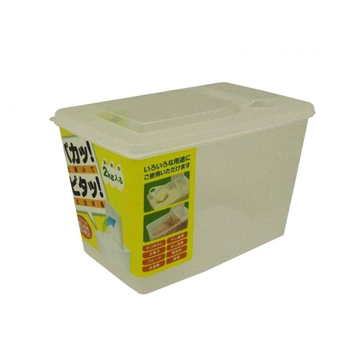 Japanese Plastic Clear Storage Container L6 K196 (3 Liter)