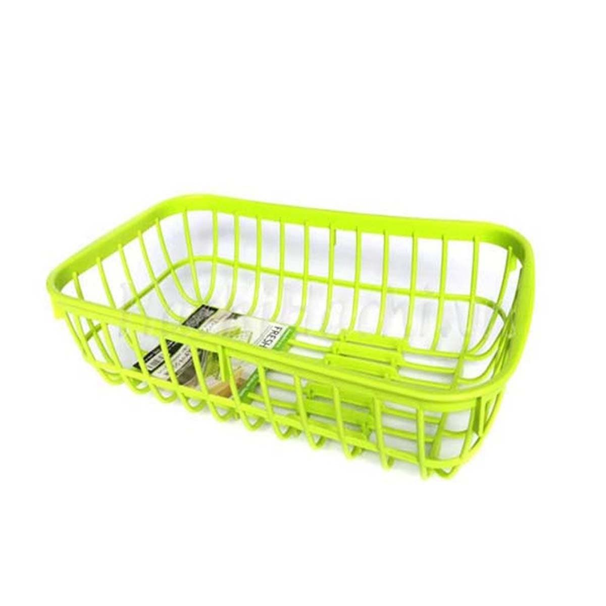 Japanese Plastic Drainage Storage Basket Rack For Sink Green