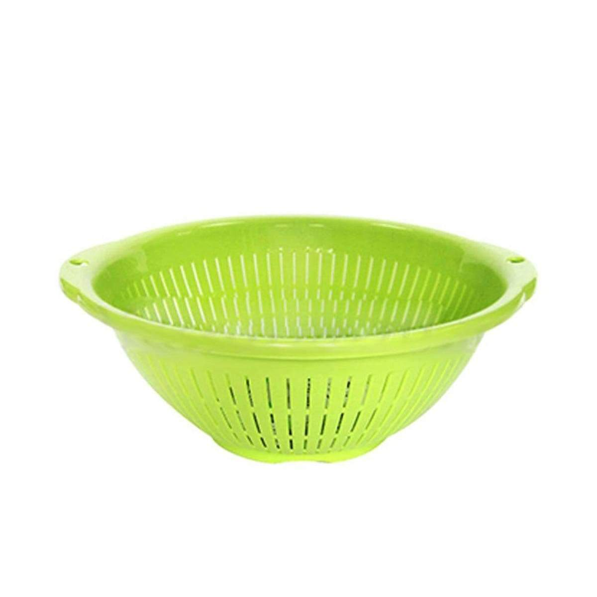 Japanese Plastic Fresh Strainer Drain Basket R-24 Green