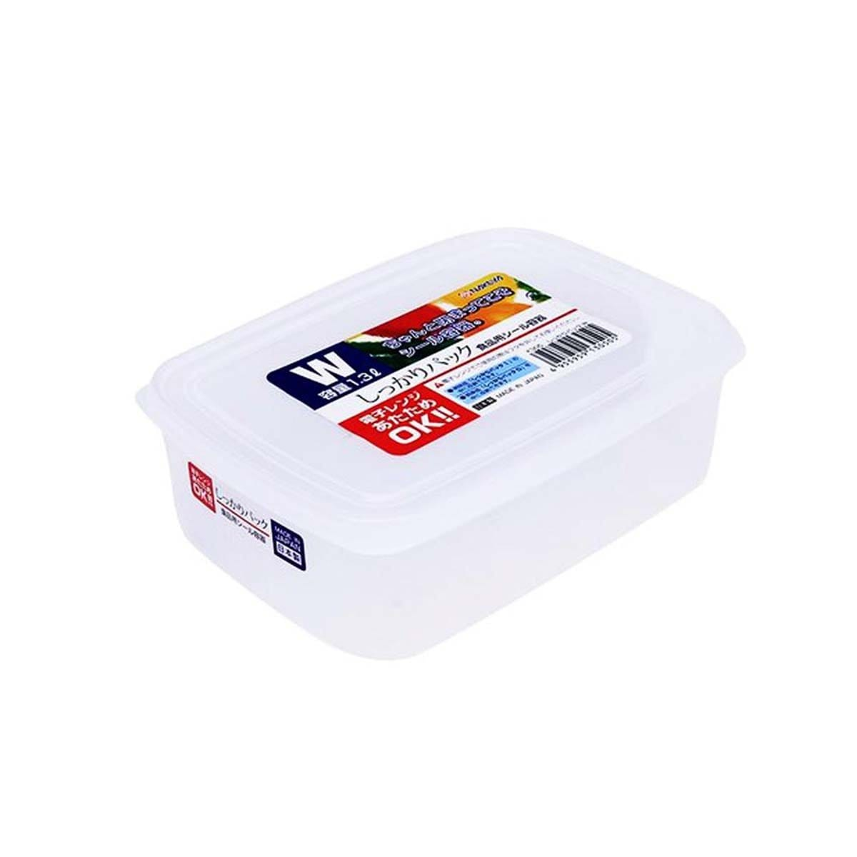 Japanese Plastic Measuring Food Container Pack White K305 (1.3L)