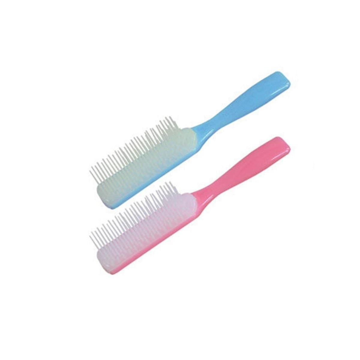 Japanese Plastic Smooth Wide Comb Brush