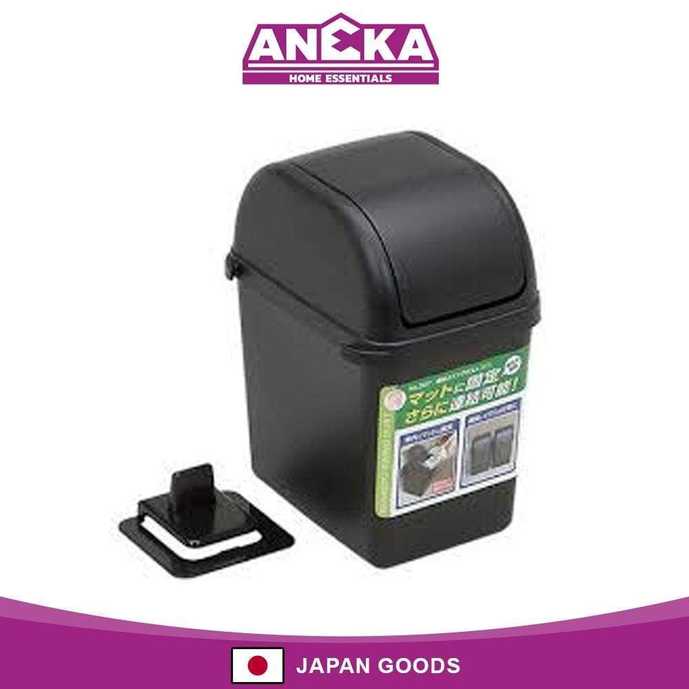 Japanese Plastic Swing Dust Box Dustbin With Stabilized Clip