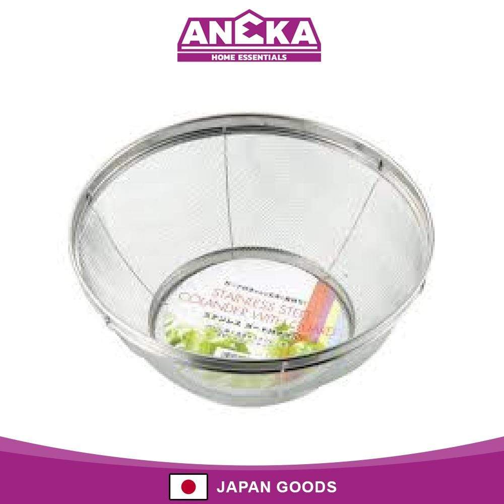Japanese Stainless Steel Colander Fruit Vegetable Washing Basket 25cm