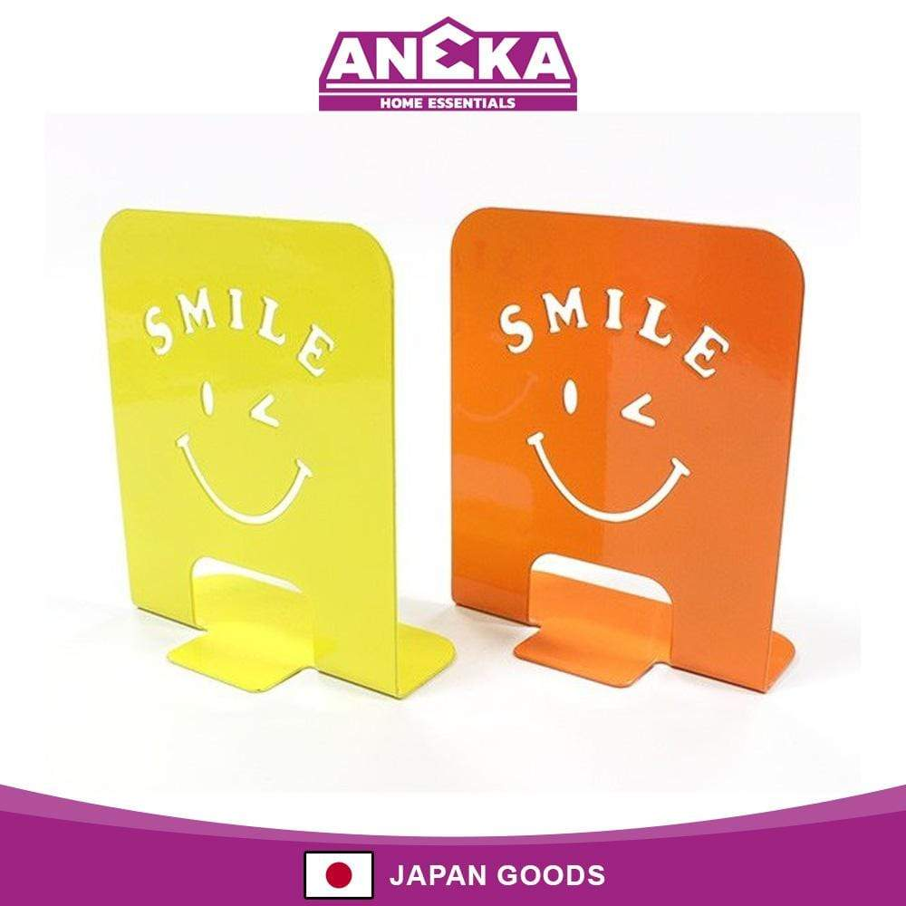 Japanese Steel Book Stand Smiley Random Colour