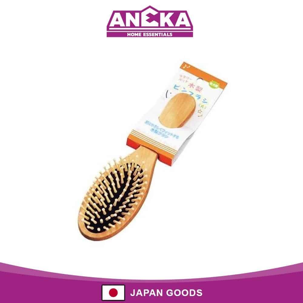 Japanese Wooden Pin Brush For Pet (Large)