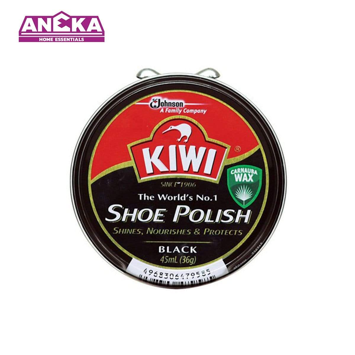 KIWI Shoe Polish Paste Black 36g 646903