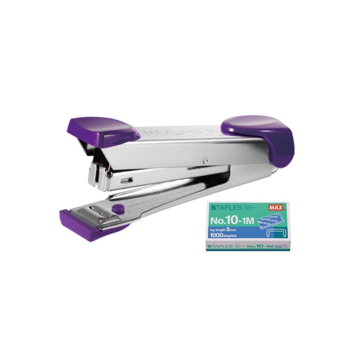 Max Stapler HD-10K Purple