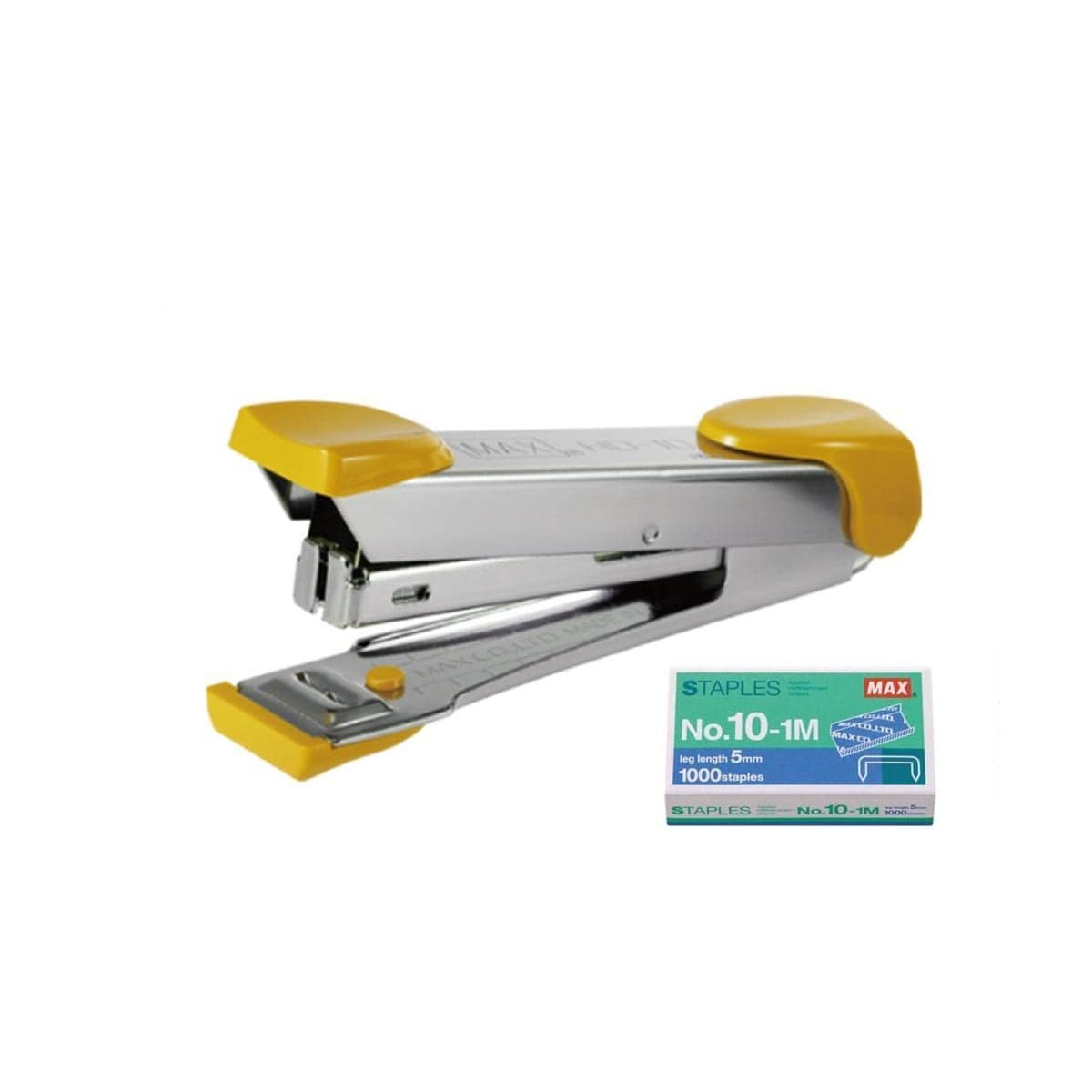 Max Stapler HD-10K Yellow