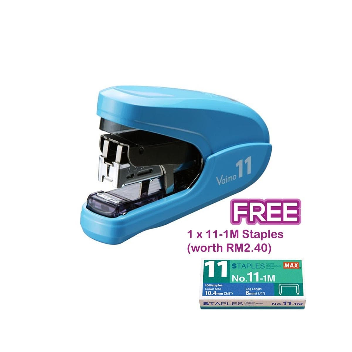 Max Stapler HD-11FLK Blue