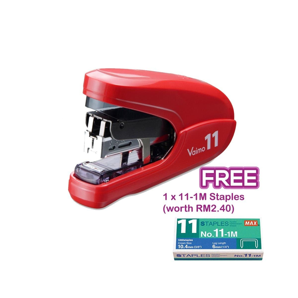 Max Stapler HD-11FLK Red