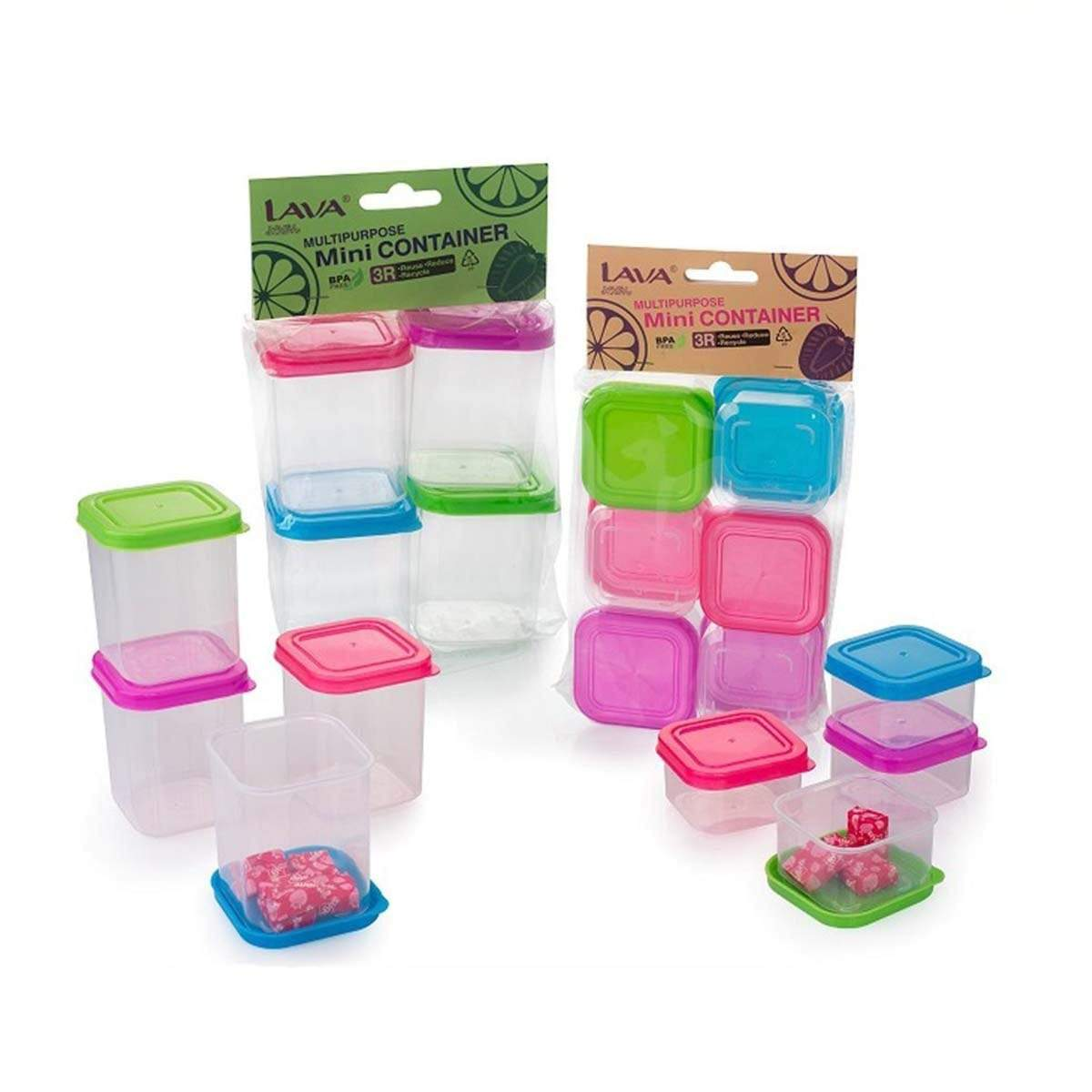 MC245 Mini Container (6 pcs) 95ml