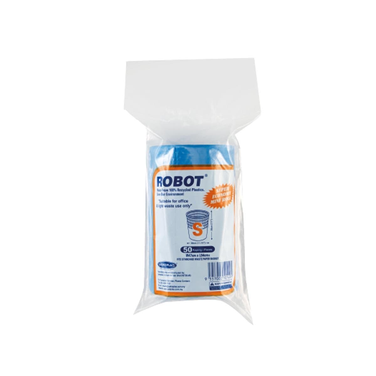 Robot Garbage MINI Roll (S) 50pc
