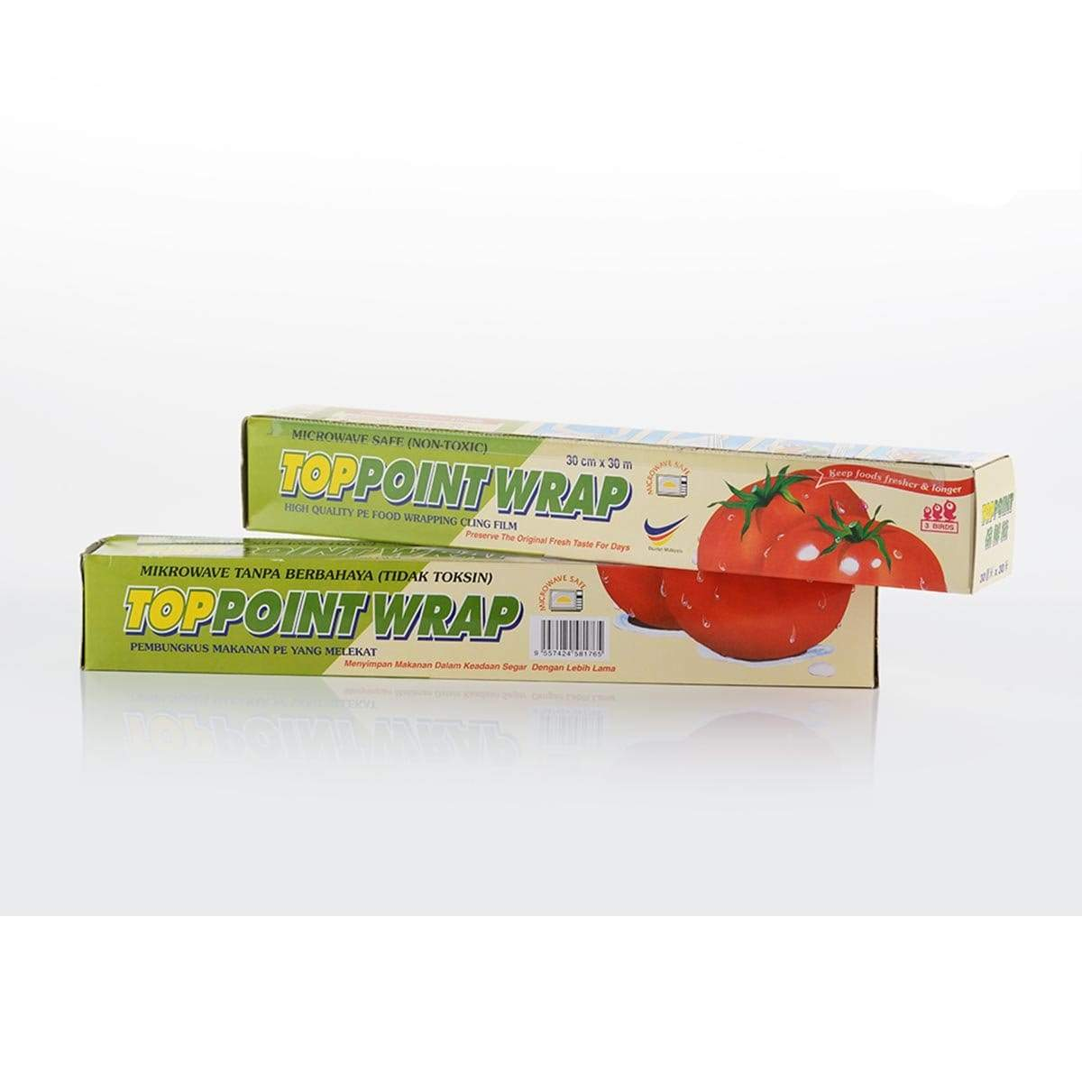 TOP POINT DISPENSER PLASTIC WRAP (30cm x 30m)