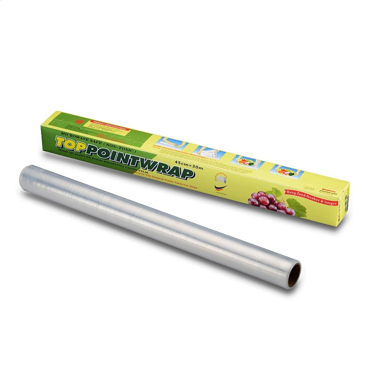Top Point Dispenser Plastic Wrap (45cm x 30m)