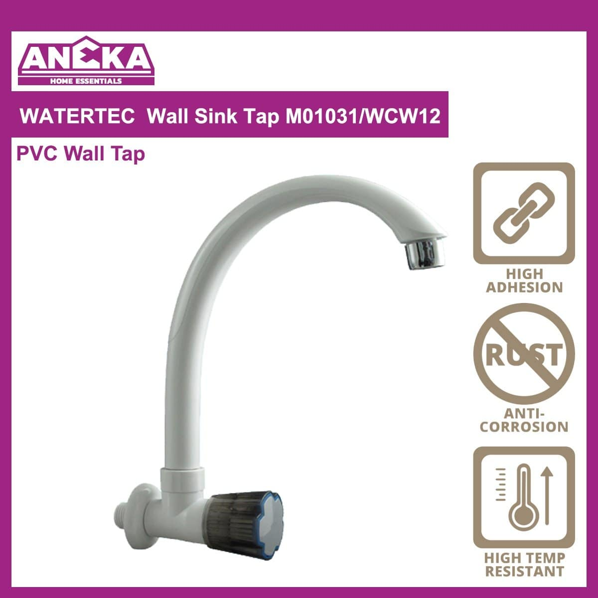 WATERTEC Wall Sink Tap WCW12/ M01031