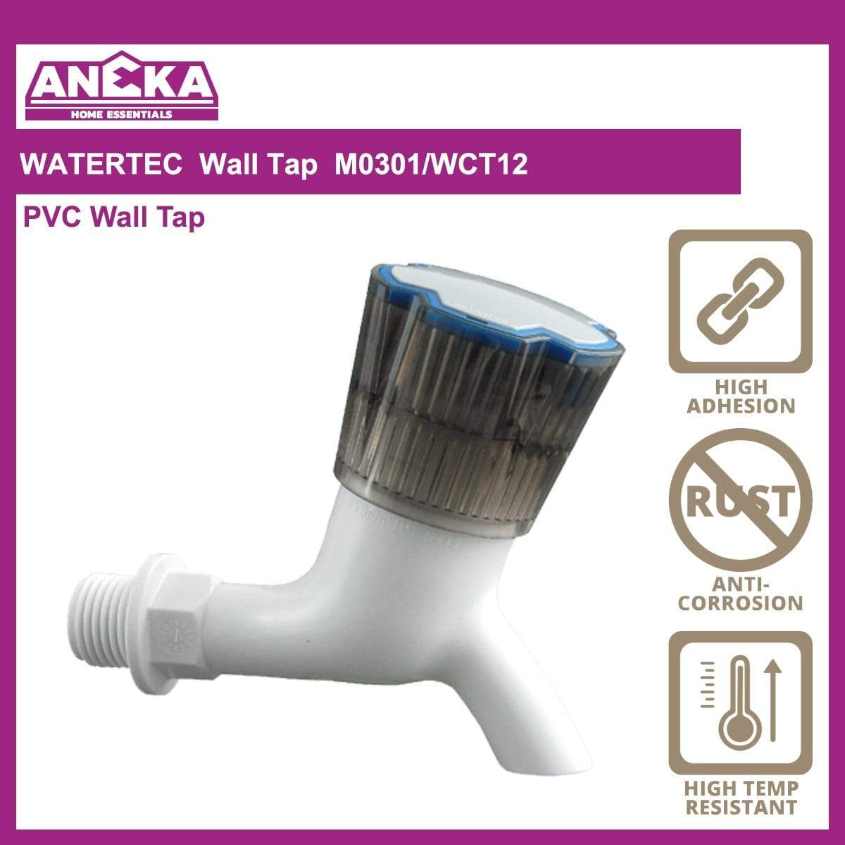WATERTEC Wall Tap M0301/WCT12