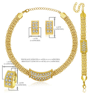 Statement Gold Colour  Jewellery Sets
