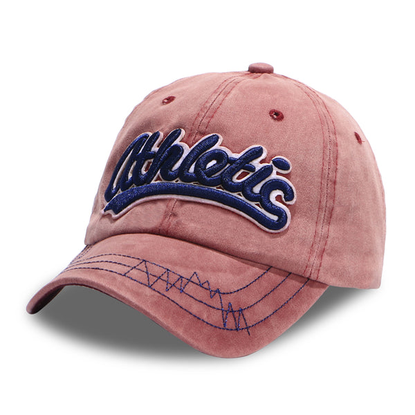 Unisex Washed  snapback  embroidery cap