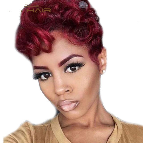 Synthetic Short Hair Wig