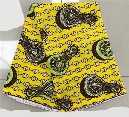 Wax Ankara styles with stone