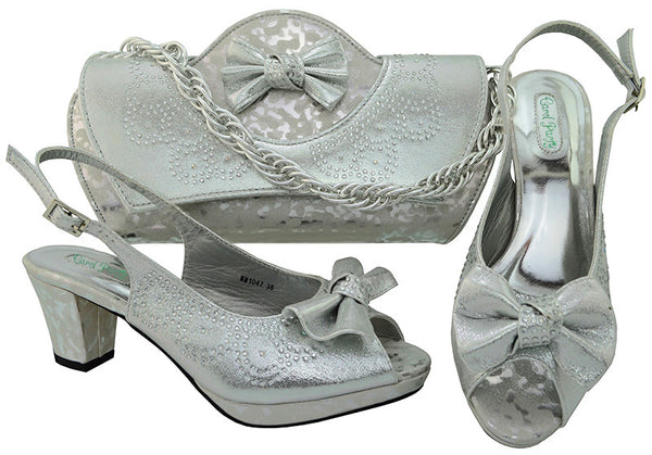 Party Shoes and Bag Set Wedding Shoes