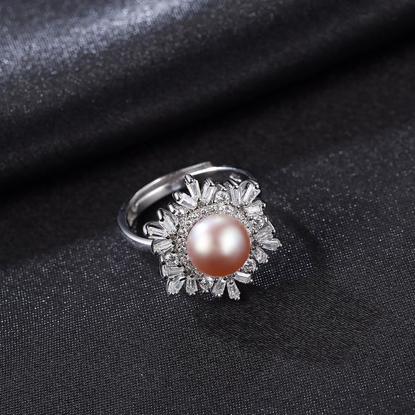 Charms Pearl Ring