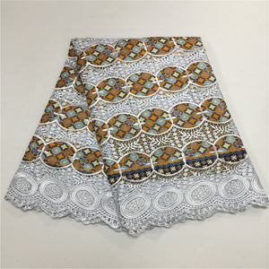 Ankara  Wax Lace
