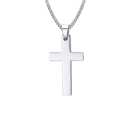 Jesus Cross Stainless Steel