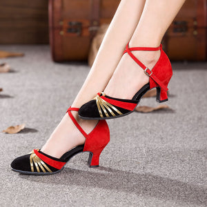 Closed Toe  Heels shoe 3.5/5.5/7cm 1
