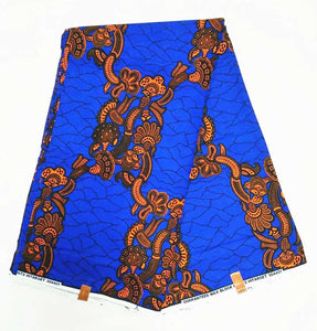 Wax Print Ankara Fabric