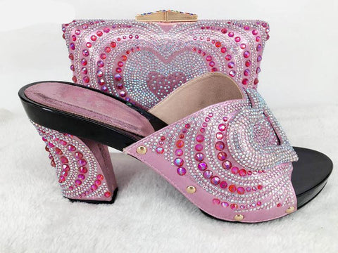 Wedge  Shoe and Bag Sets