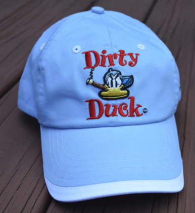 Bobby London puts his Dirty Duck character on the Nogginwear Limited Edition Artist Hat Series.