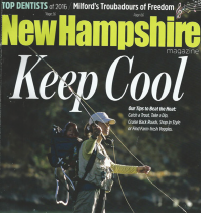 Hillbilly Weatherman and Nogginwear New Hampshire Magazine