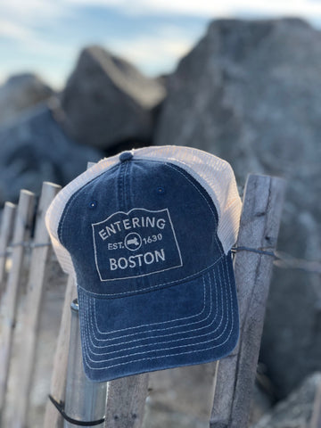 Boston City Series Trucker Hat
