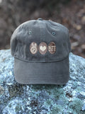 Peace Love & BFF Super Soft Unstructured Light Olive Hat