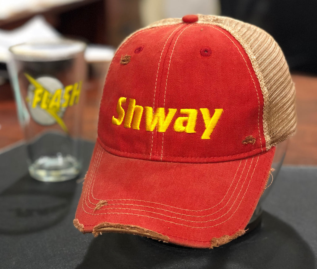 Shway Trucker Mesh Snapback Hat as heard on The Flash