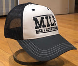 "MILF Pro Style Baseball Snapback ""Man I Love Fishing"" Hat"