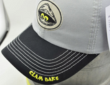 Clambake Adjustable Grey Hat by Nogginwear
