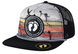 Hang Ten snapback foam trucker hat by Nogginwear