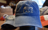 This Way to the Lake Vintage Garment Washed Mesh Snapback Hat