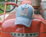 Old Glory American Flag Limited Edition Distressed Hat by Nogginwear