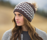 Pistil Static Brown Slouch Beanie