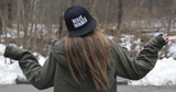 Flat Bill Snap Back Adjustable Hat featuring Wait What by Nogginwear