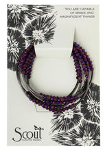 Load image into Gallery viewer, Scout Wrap: Dahlia/Hematite