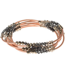 Load image into Gallery viewer, Scout Wrap: Metallic Tri-Tone/Matte Rose Gold