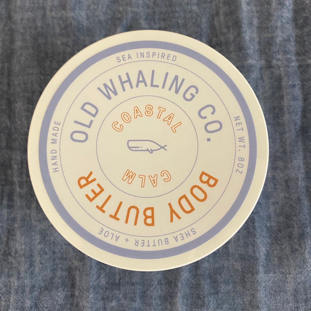Old Whaling Co. Body Butter - Coastal Calm, 8oz