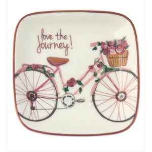 Trinket Dish- Love the Journey