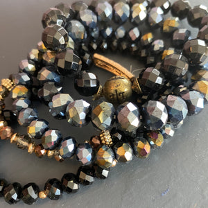 Stretchy Crystal Beaded Bracelet