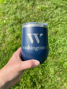 Washington Insulated Stemless Wine Cup - 12oz, Multiple Colors