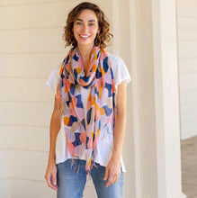 Load image into Gallery viewer, Pink Lux Tassel Scarf